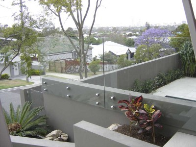 Glass Pool Fencing Frameless Design 12 Side Fixed