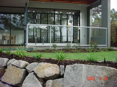 Glass Balustrade Framed Design 1-20