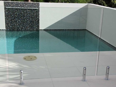 Glass Pool Fencing Frameless Design 12 Mini Post-2