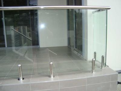 Glass Pool Fencing Frameless Design 12 Mini Post-3