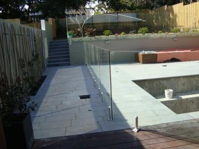 Glass Pool Fencing Frameless Design 12 Mini Post-6