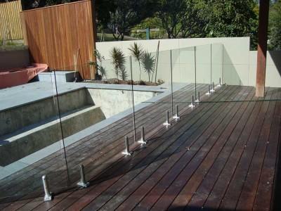 Glass Pool Fencing Frameless Design 12 Mini Post-7