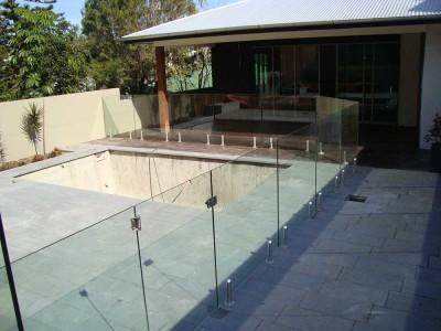 Glass Pool Fencing Frameless Design 12 Mini Post-8