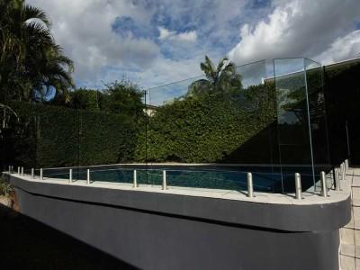 Glass Pool Fencing Frameless Design 12 Mini Post-9