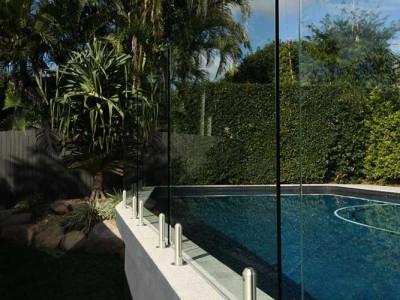 Glass Pool Fencing Frameless Design 12 Mini Post-10