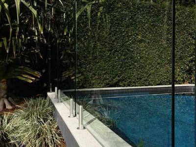 Glass Pool Fencing Frameless Design 12 Mini Post-11