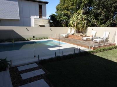 Glass Pool Fencing Frameless Design 12 Mini Post-13