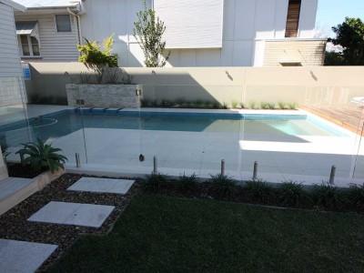 Glass Pool Fencing Frameless Design 12 Mini Post-14