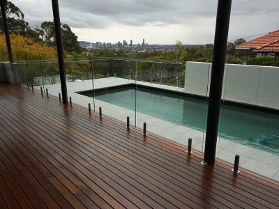 Glass Pool Fencing Frameless Design 12 Mini Post-16