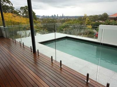 Glass Pool Fencing Frameless Design 12 Mini Post-17