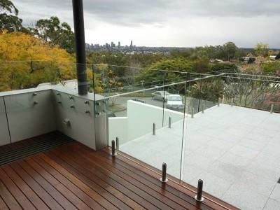 Glass Pool Fencing Frameless Design 12 Mini Post-18