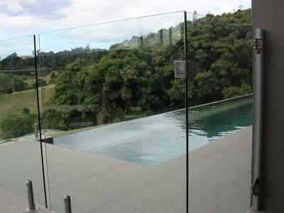 Glass Pool Fencing Frameless Design 12 Mini Post-20