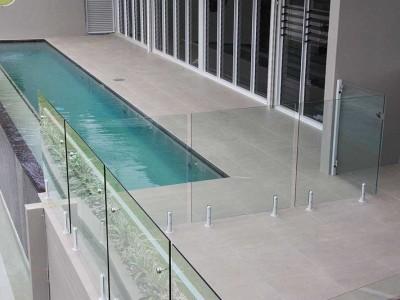Glass Pool Fencing Frameless Design 12 Mini Post-21