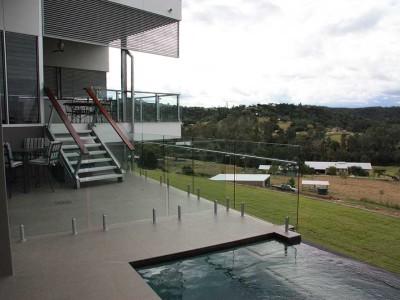Glass Pool Fencing Frameless Design 12 Mini Post-22