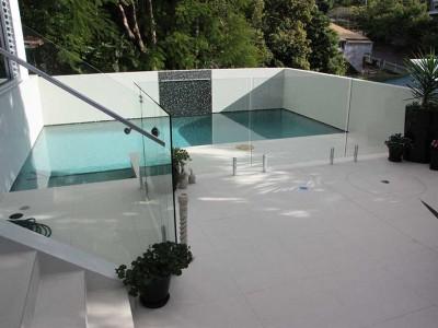 Glass Pool Fencing Frameless Design 12 Mini Post-24