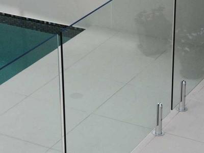 Glass Pool Fencing Frameless Design 12 Mini Post-28