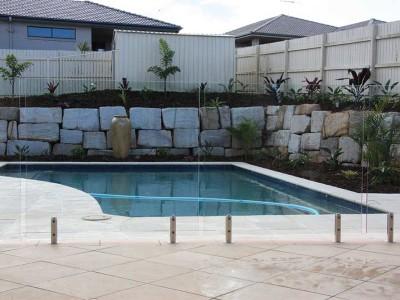 Glass Pool Fencing Frameless Design 12 Mini Post-30