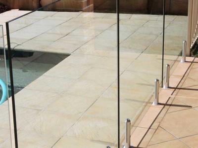 Glass Pool Fencing Frameless Design 12 Mini Post-31