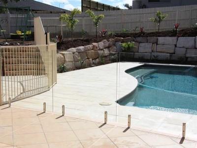 Glass Pool Fencing Frameless Design 12 Mini Post-32