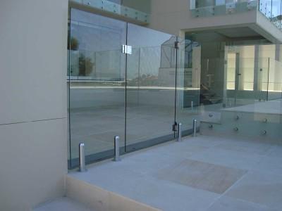 Glass Pool Fencing Frameless Design 12 Mini Post-36