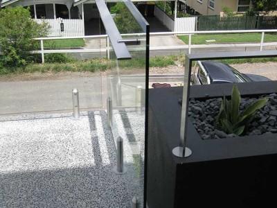 Glass Balustrade Frameless Design 12 Mini Post-4