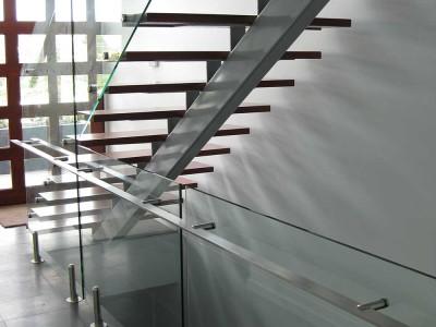 Glass Balustrade Frameless Design 12 Mini Post-9