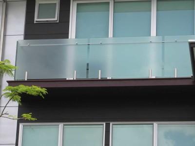 Glass Balustrade Frameless Design 12 Mini Post-11