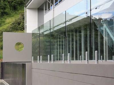 Glass Balustrade Frameless Design 12 Mini Post-17
