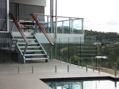 Glass Balustrade Frameless Design 12 Mini Post-18