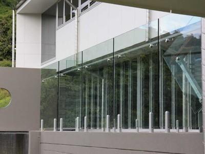 Glass Balustrade Frameless Design 12 Mini Post-21