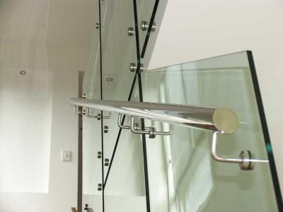 Glass Balustrade Frameless Design 12 Side Fixed-3