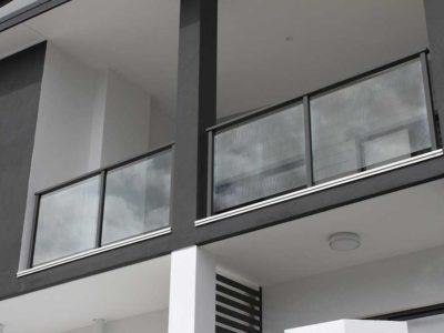 Glass Balustrade Framed Design 5-10