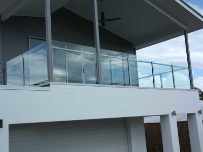 Glass Balustrade Framed Design 6-2