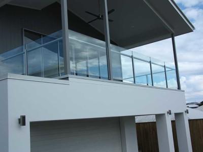 Glass Balustrade Framed Design 6-3