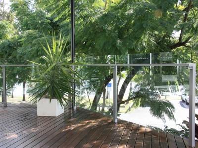 Glass Balustrade Framed Design 6-12