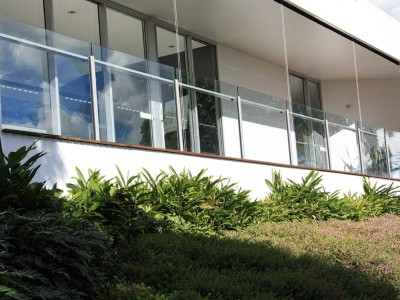 Glass Balustrade Framed Design 6-13