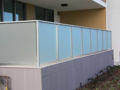 Glass Balustrade Framed Design 7-16