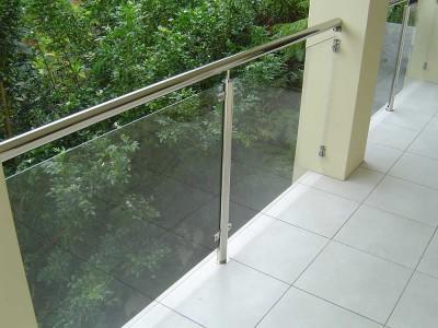 Glass Balustrade Framed Design 9-14