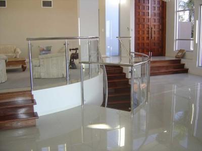 Glass Balustrade Framed Design 9-16