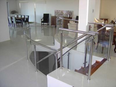 Glass Balustrade Framed Design 9-17