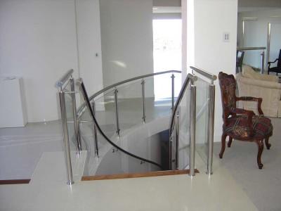 Glass Balustrade Framed Design 9-18