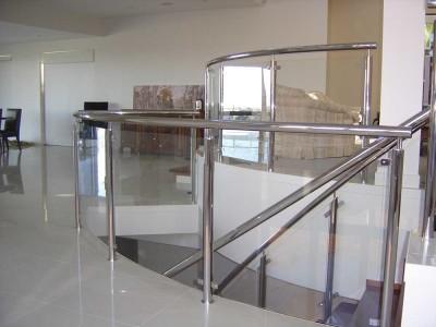 Glass Balustrade Framed Design 9-21