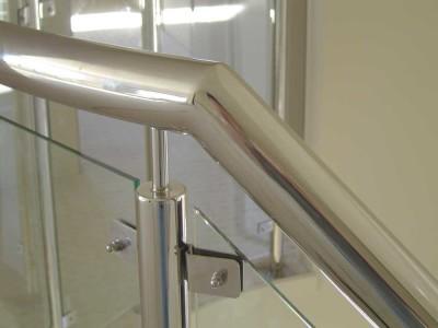 Glass Balustrade Framed Design 9-38