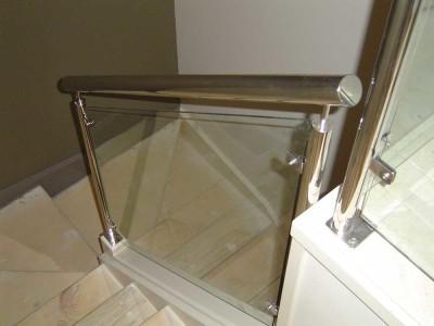 Glass Balustrade Framed Design 9-39