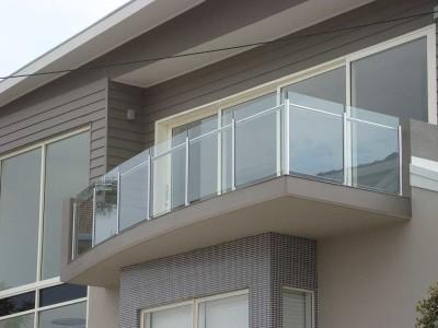 Glass Balustrade Framed Design 9-43