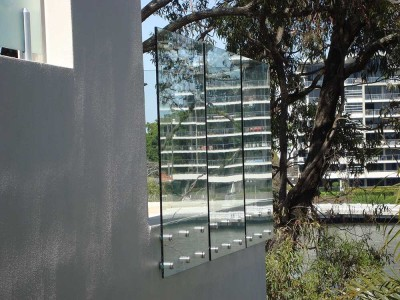 Glass Pool Fencing Frameless Design 12 Side Fixed-11