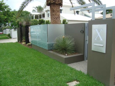 Glass Pool Fencing Frameless Design 12 Side Fixed-12