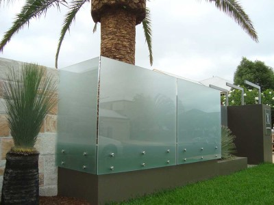 Glass Pool Fencing Frameless Design 12 Side Fixed-14