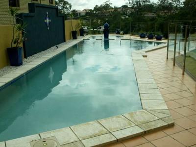 Glass Pool Fencing Semi Frameless Design 8-2