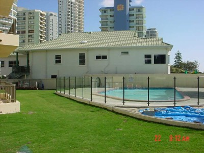 Glass Pool Fencing Semi Frameless Design 8-15